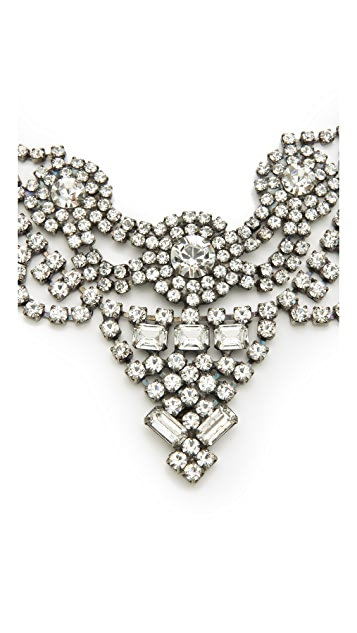 DANNIJO Vala Clear Crystal Necklace