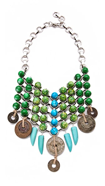 DANNIJO Anika Bib Necklace