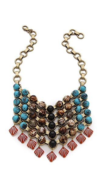 DANNIJO Logan Bib Necklace
