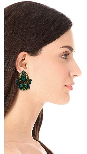 DANNIJO Magnolia Clip On Earrings