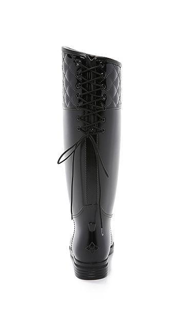 Dav Victoria Spur Adjustable Back Boots