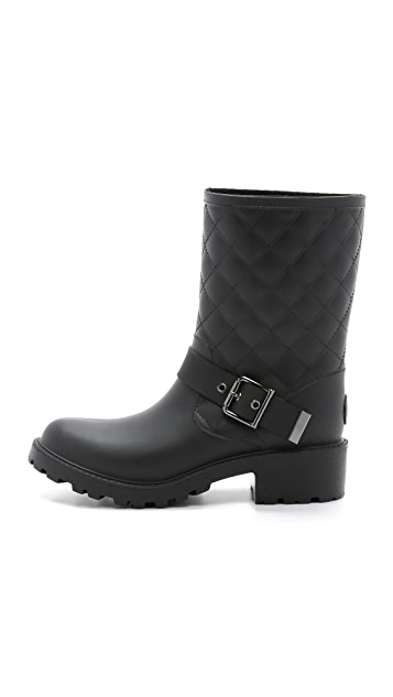 Dav Moto Quilted Boots