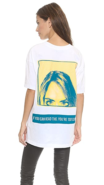 DKNY x Cara Delevingne Get Your Brow On Tee