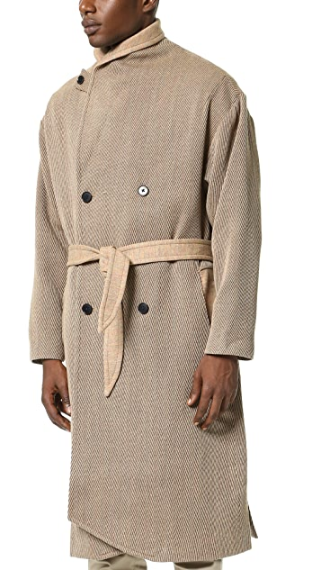 DDUGOFF Robe Overcoat