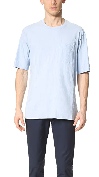DDUGOFF Mercerized Pocket Tee