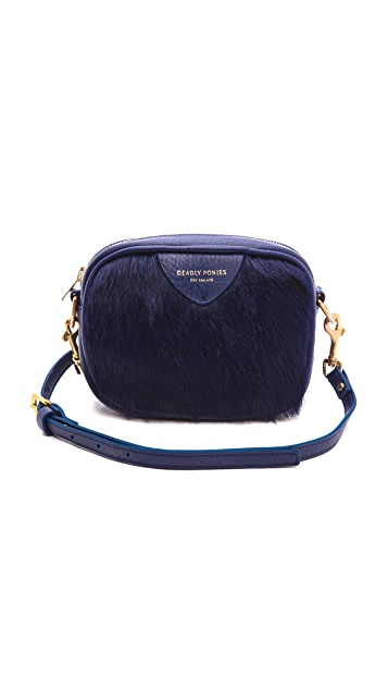 Deadly Ponies Mr. Cub Fur Cross Body Bag
