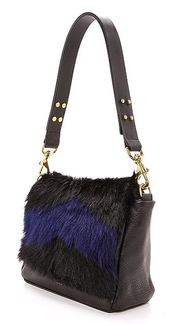 Deadly Ponies Mr. Nebula Fur Messenger Bag
