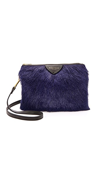 Deadly Ponies Mr. Siamese Fur Cross Body Bag