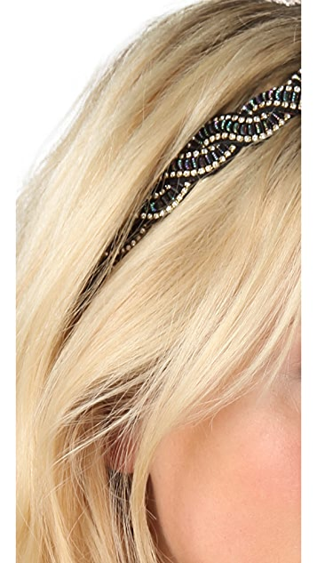 Deepa Gurnani Crystal Wave Headband