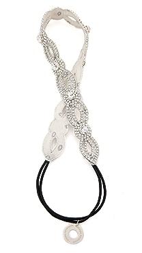 Deepa Gurnani Crystal Loop Headband