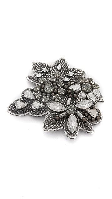 Deepa Gurnani Antique Crystal Hair Clip