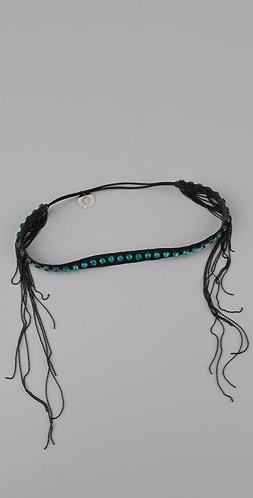 Deepa Gurnani Rhinestone Headband