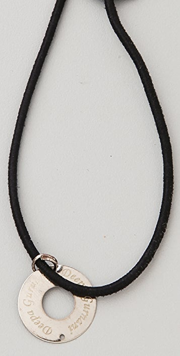 Deepa Gurnani Multi Crystal Applique Headband