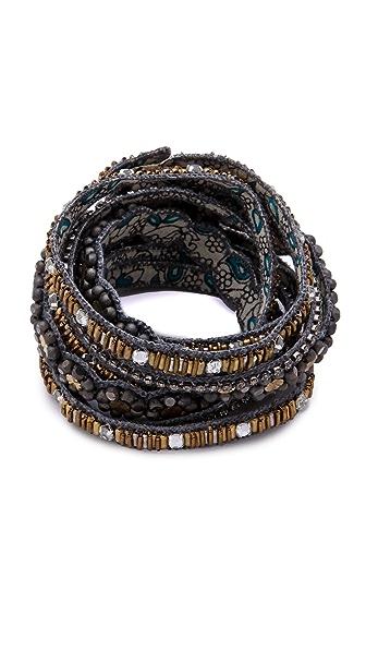 Deepa Gurnani Embellished Layered Bracelet