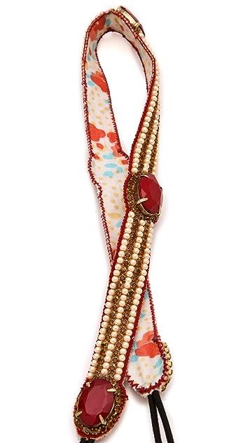 Deepa Gurnani Ruby Station Headband