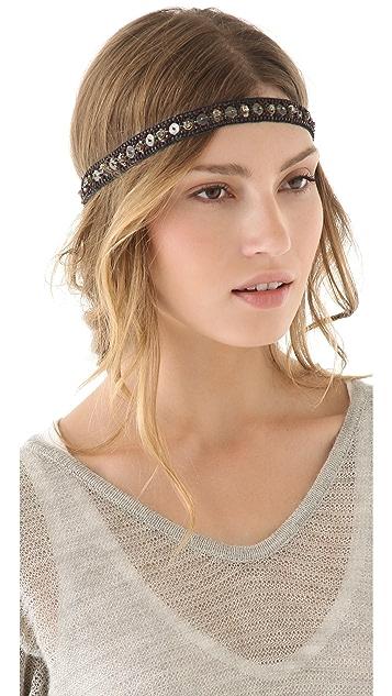 Deepa Gurnani Crystal Encrusted Headband