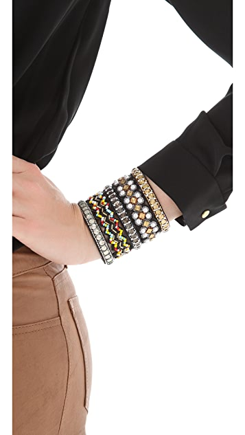 Deepa Gurnani Multi Patterned Cuff