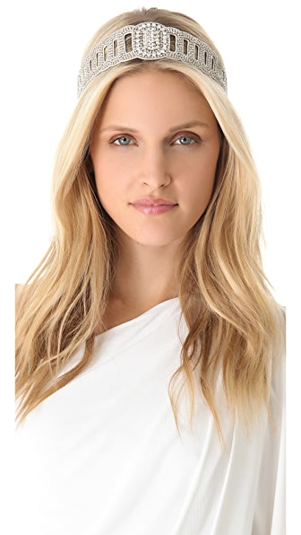 Deepa Gurnani Scalloped Headband