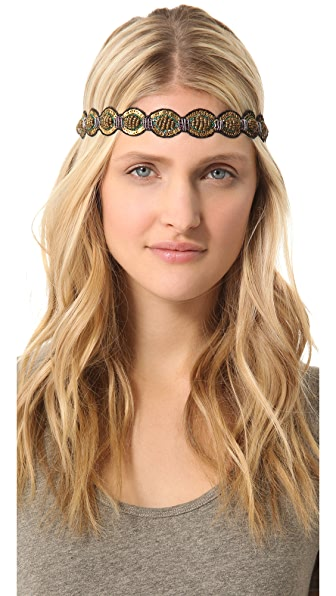Deepa Gurnani Embroidered Headband