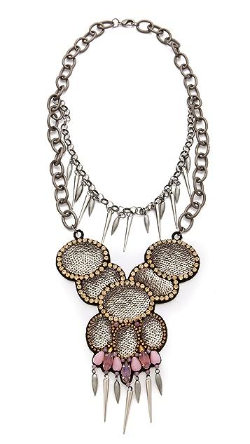 Deepa Gurnani Layered Statement Necklace