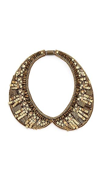 Deepa Gurnani Embellished Bib Collar