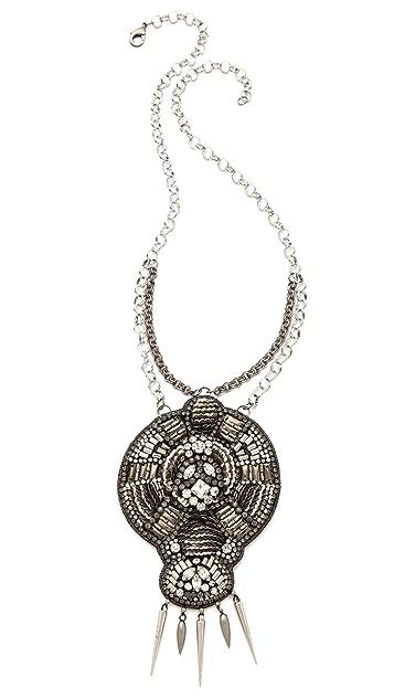 Deepa Gurnani Large Pendant Necklace