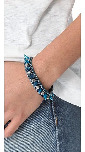 Deepa Gurnani Spiked Bracelet