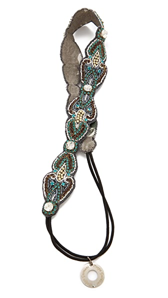 Deepa Gurnani Beaded Embellished Headband