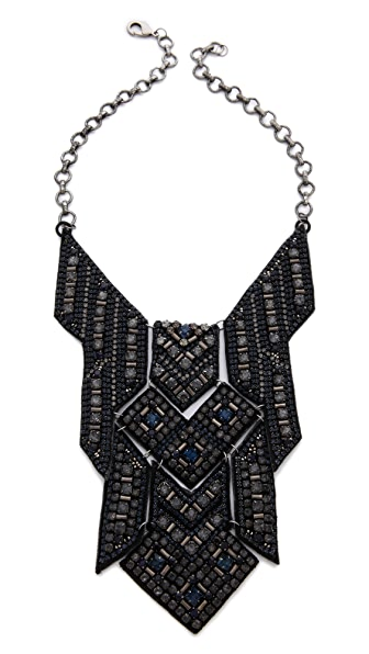 Deepa Gurnani Geometric Statement Necklace