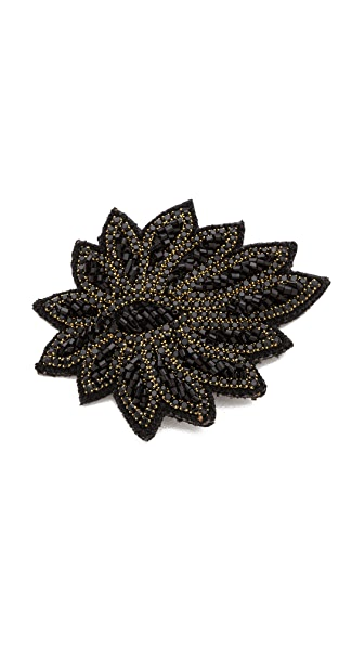 Deepa Gurnani Applique Crystal Hair Clip