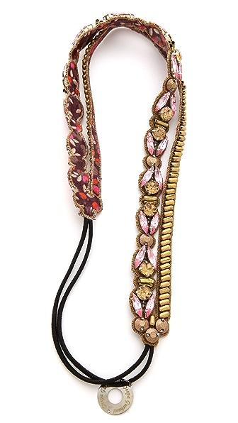 Deepa Gurnani Crystal Duo Headband