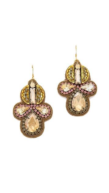 Deepa Gurnani Shining Crystal Earrings