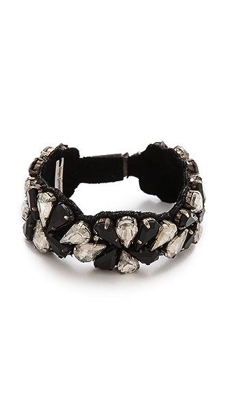Deepa Gurnani Two Tone Cuff Bracelet