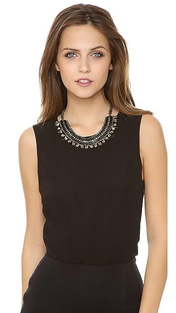 Deepa Gurnani Short Collar Necklace