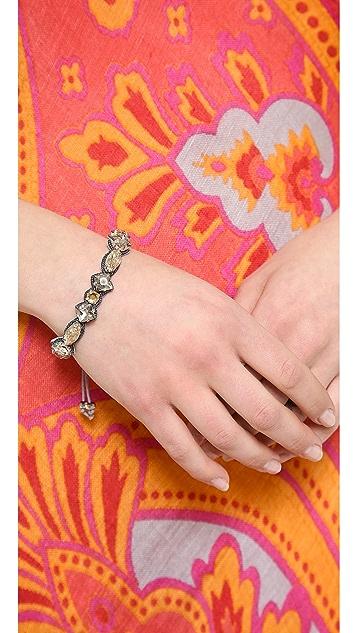 Deepa Gurnani Crystal Encrusted Bracelet