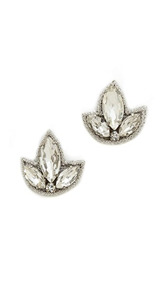Deepa Gurnani Crystal Earrings