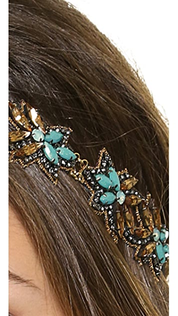 Deepa Gurnani Open Cutout Headband