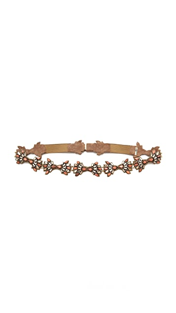 Deepa Gurnani Stone Bundled Belt