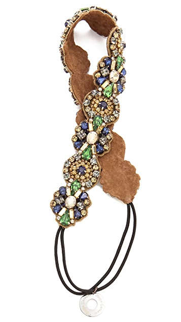 Deepa Gurnani Stone Regal Headband