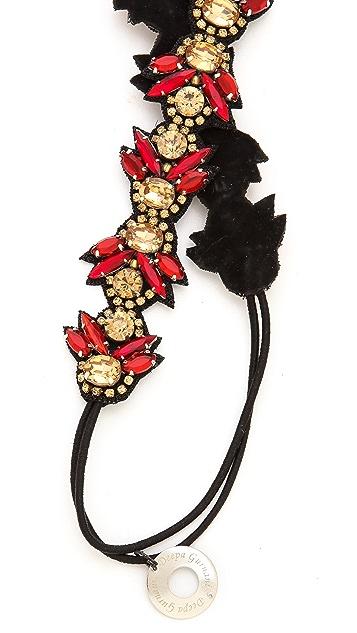 Deepa Gurnani Phoenix Crystal Headband
