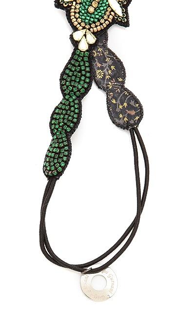 Deepa Gurnani Crystal Encursted Headband
