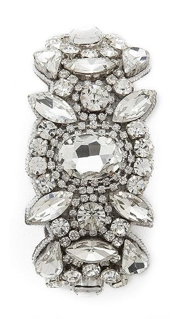 Deepa Gurnani Statement Crystal Bracelet