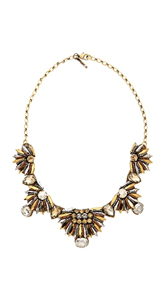 Deepa Gurnani Pharaoh Crystal Necklace