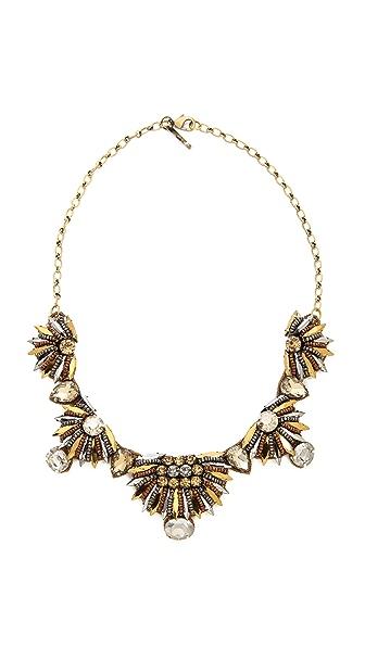 Deepa Gurnani Pharaoh Crystal Necklace