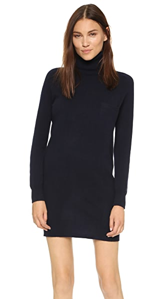 Demylee Bianca Cashmere Dress - Navy