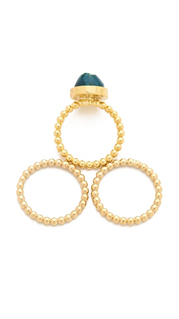 Dara Ettinger Naomi Stacking Rings