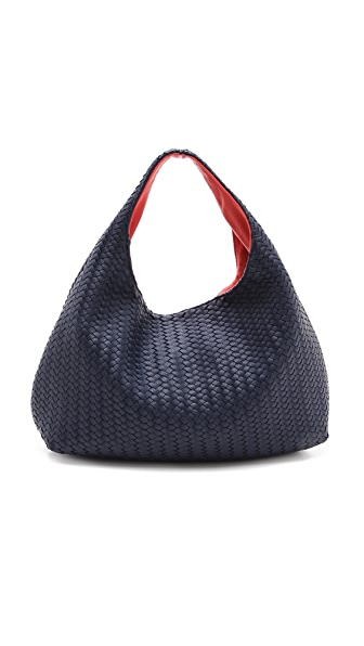 Deux Lux Greenwich Studded Hobo