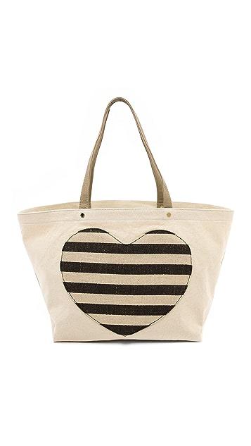 Deux Lux Lovetote Large Heart Shopper