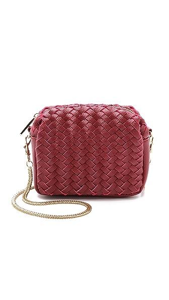 Deux Lux Woven Wink Mini Cross Body Bag