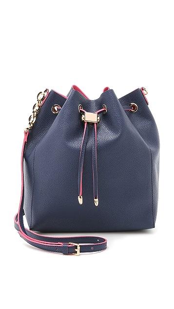 Deux Lux Elle Drawstring Bucket Bag